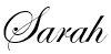 Sarah Artistry_signature